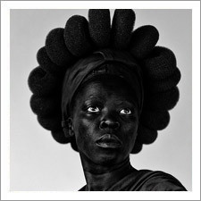 Black and White Self-Portraits by Zanele Muholi
