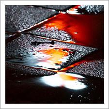 Neon Hues Paint Puddles of 'Regular Rain' in Images by Slava Semeniuta